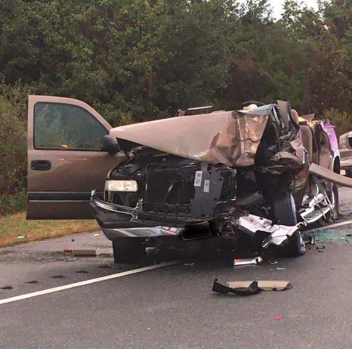 One Flown to Trauma Center After Tractor Trailer and SUV Collide in Charles County
