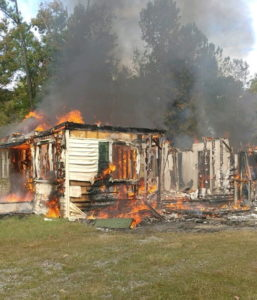 UPDATE: House in Coltons Point Destroyed After Fire, Cause of Fire Still Under Investigation