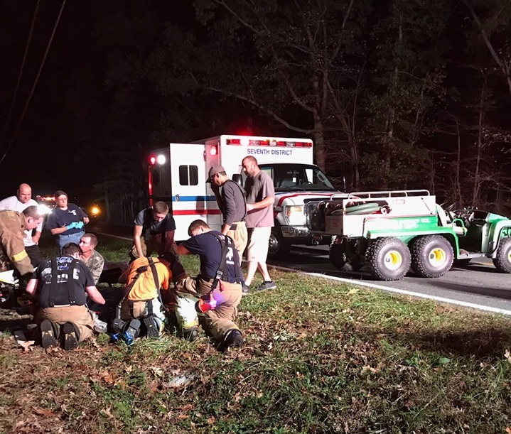 Man Transported to Trauma Center After Falling from Deer Stand in Bushwood
