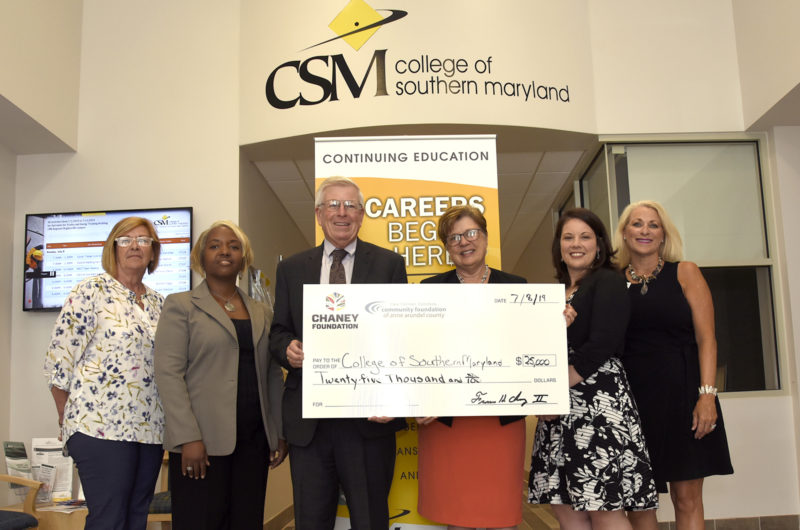 Chaney Enterprises Foundation Fund Continues Generous Support of CSM Workforce Pathway Programs with $25,000 Grant