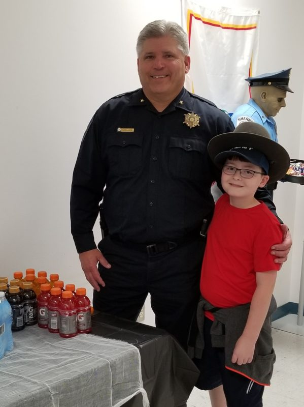 Halloween Donation to the Sheriff's Office