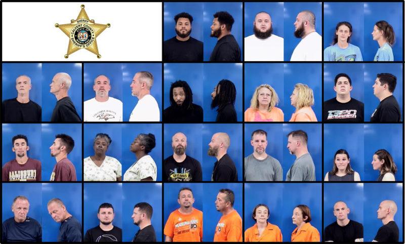 Calvert County Sheriff's Office Arrests – 11/6/2019