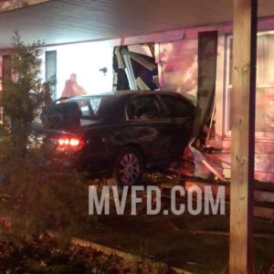 Driver Injured, Two Adults and Five Animals Displaced After Vehicle Hits House in Mechanicsville