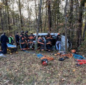 The Charles County Sheriff's Office is Seeking Witnesses to Rollover Crash That Seriously Injured One Adult and Two Children in La Plata