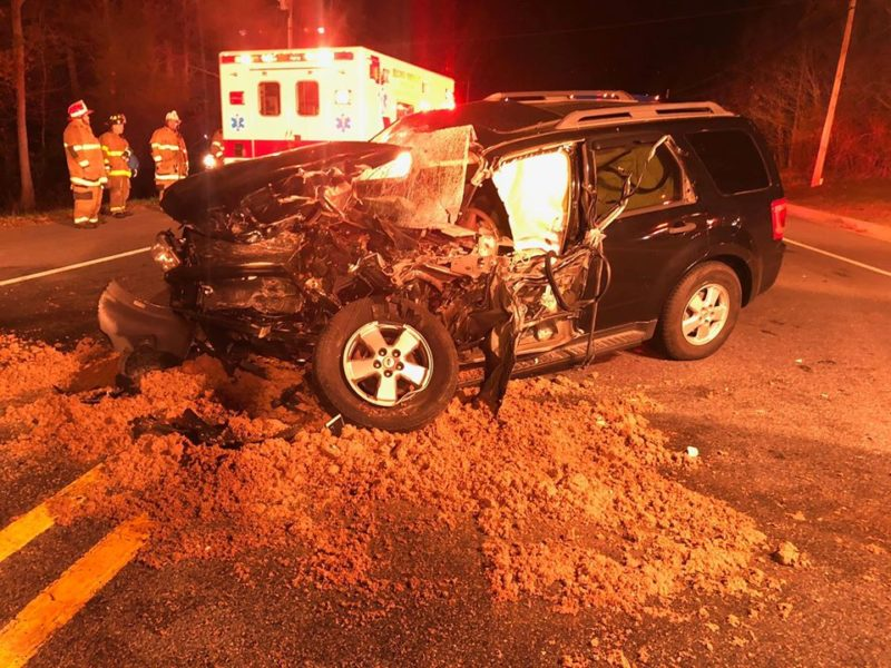 AUDIO: Head-on Collision Involving STS Bus in Leonardtown Sends Five to Hospital