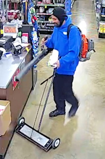 The St. Mary's County Sheriff's Office Seeking Information on Charlotte Hall Theft Suspect