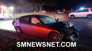 VIDEO: No Injuries Reported After Wrong Way Drunk Driver Crashes in Great Mills