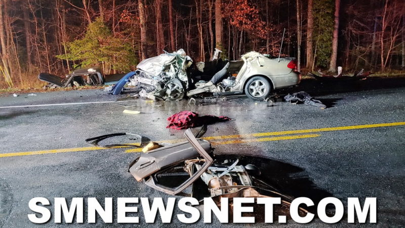 Early Morning Head-on Collision in Valley Lee Sends Two to Hospital