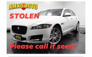 VIDEO: Police in Waldorf Looking for Two Stolen Jaguars an Audi, and Corvette