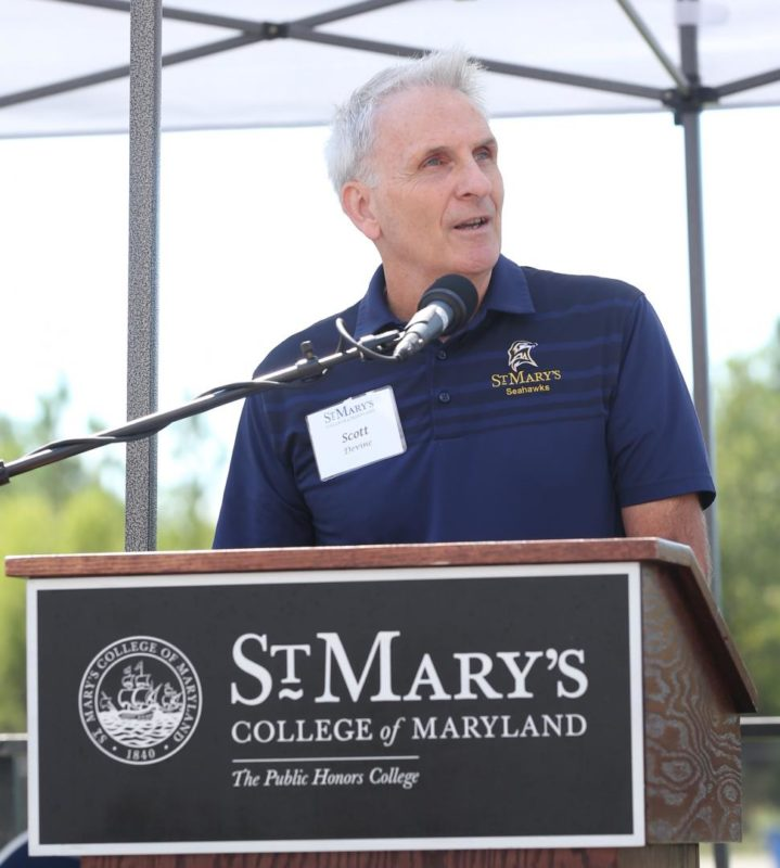 St. Mary's College Athletics and Recreation Director Scott Devine to Retire in 2020