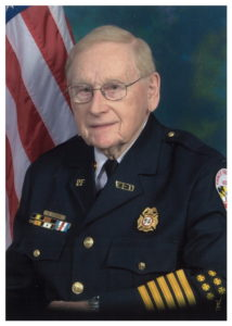 Prince Frederick Volunteer Fire Department Regrets to Announce Passing of Past Fire Chief and Life Member Vernon Delmar Horsmon, Sr., 93