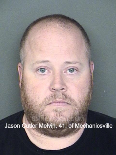 Jason Cutler Melvin, 41, of Mechanicsville