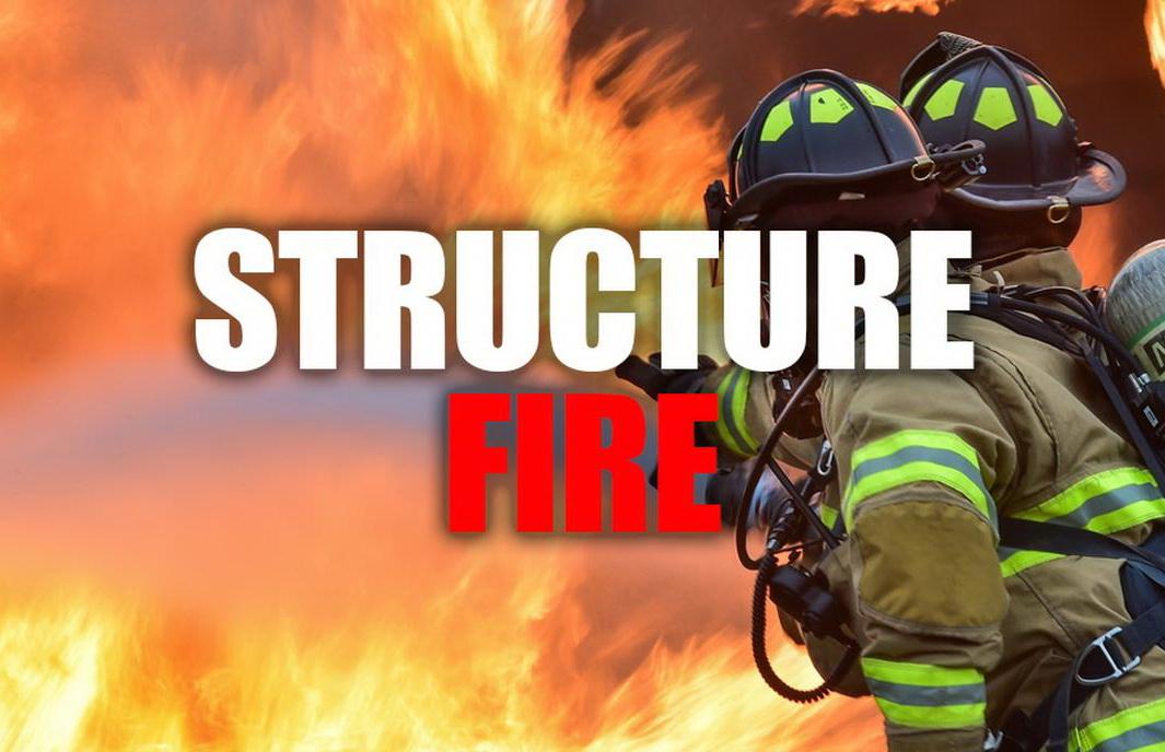 Firefighters Responding to Large Barn Fire in St. Leonard