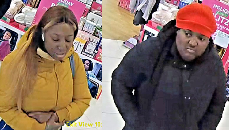 Identities Needed for Theft Suspects in St. Mary's County