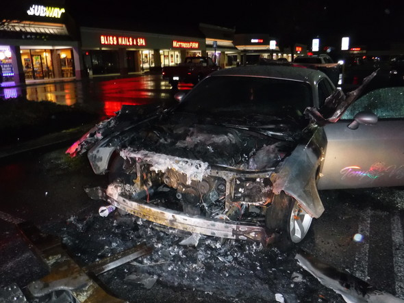 Firefighters Quickly Extinguish Vehicle Fire in Waldorf, State Fire Marshal Deems Fire Accidental