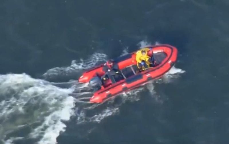 VIDEO: Rescuers Located Person who was Previously Unaccounted for After a Cliff Collapsed at Brownies Beach