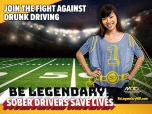 Maryland State Police Reminds Motorists Not To Drive Impaired This Super Bowl Weekend