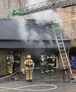 Firefighters Quickly Extinguish Garage Fire in Dunkirk