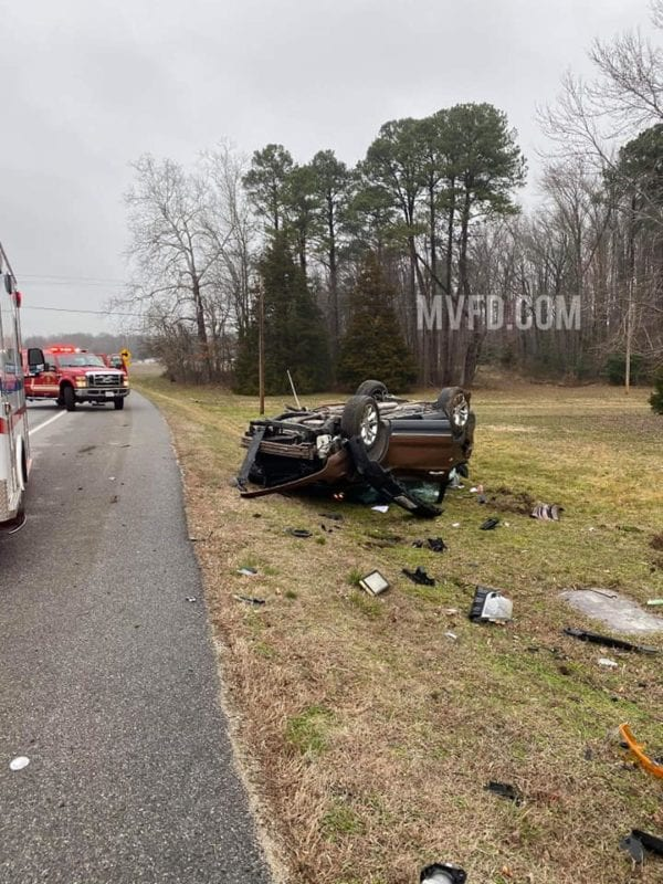 Two Injured, One Transported to Trauma Center After Head-on Collision in Mechanicsville