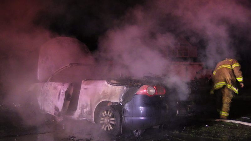 Homeowners Quick Thinking Saves House from Vehicle Fire in Lexington Park