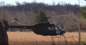 VIDEO: No Injuries Reported After Military Helicopter Makes Emergency Landing in Lexington Park