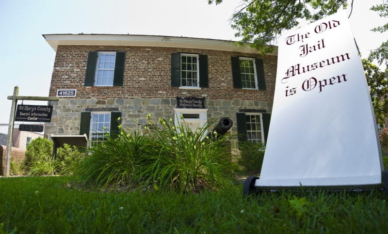 The Old Jail Museum Open for Leonardtown First Fridays, on March 6, 2020