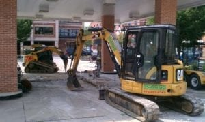 Calvert County Sheriff's Office Investigating Mini-Excavator Stolen from Church Construction Site