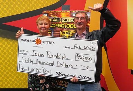 Lexington Park Man Wins $50,000 Scratch-Off at Pegg Road Shell