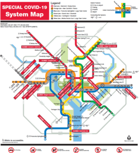 Metro to Close Additional 17 Stations Amid Low-Ridership & Need to Conserve Critical Cleaning Supplies During COVID-19 Response