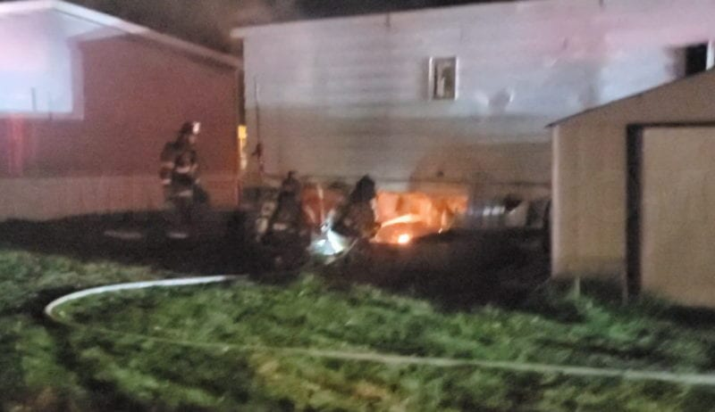 Firefighters Quickly Extinguish Arson Trailer Fire in Lexington Park, State Fire Marshal Investigating