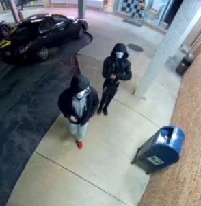 The St. Mary's County Sheriff's Office is Seeking Information on Two Robberies That Occurred in Lexington Park