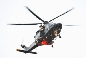 State Police Helicopter Hoists Kayaker From Marsh In Patuxent River Park
