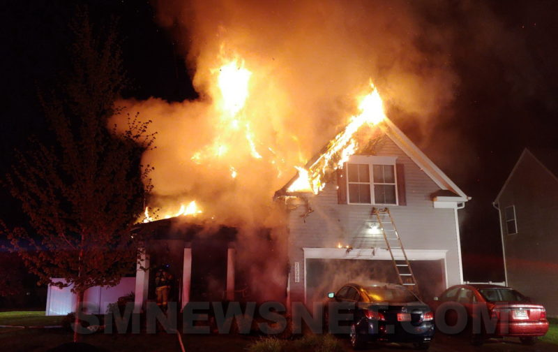 VIDEO: Great Mills House Fire Deemed Accidental, One Firefighter Injured and One Cat Saved