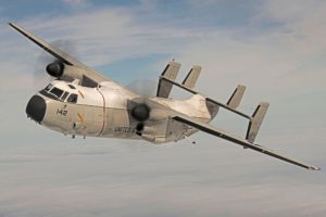 """Old Gal"" Takes a Victory Lap as VX-20 Sunsets the C-2A Greyhound"