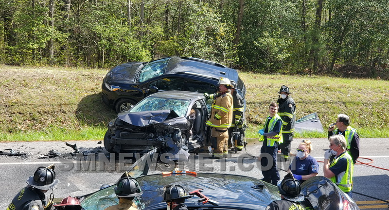 Second Collision on St. Andrew's Church Road in Less Than Two Hours Leaves Three Injured After Four Vehicle Pileup in California