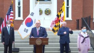 Governor Hogan Announces State of Maryland Acquires a Half Million COVID-19 Tests From South Korea