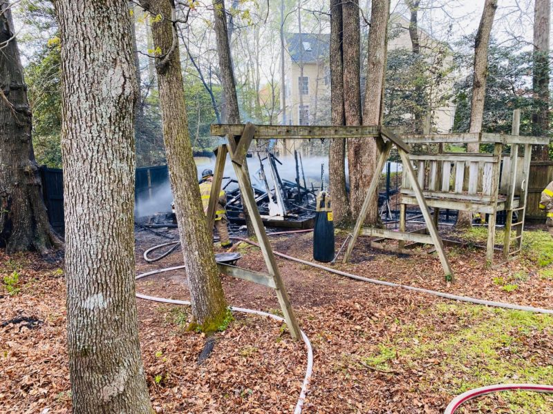 State Fire Marshal Investigating Shed Fire in Waldorf