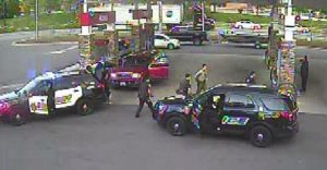 Police From Multiple Agencies Prevent a Man From Harming Himself at Convenience Store in Charles County