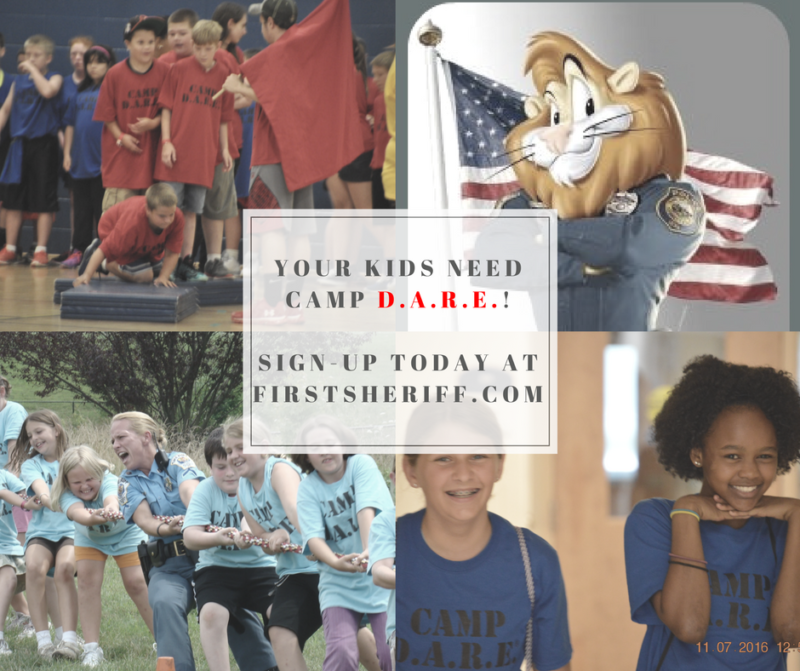 St. Mary's County Sheriff's Office Seeking Camp DARE Counselors for 2020 Program in August