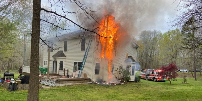 Firefighters Respond to House Fire in Bryantown