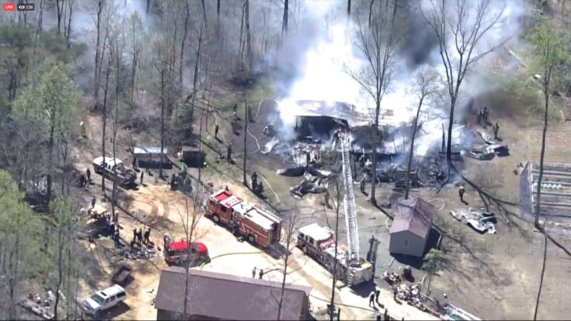 UPDATE: No Injuries Reported, House Fire in Mechanicsville Deemed Accidental and Caused by Malfunctioning Wood Stove