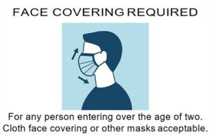Calvert County Health Department Orders Face Coverings to be Worn in all Retail Establishments