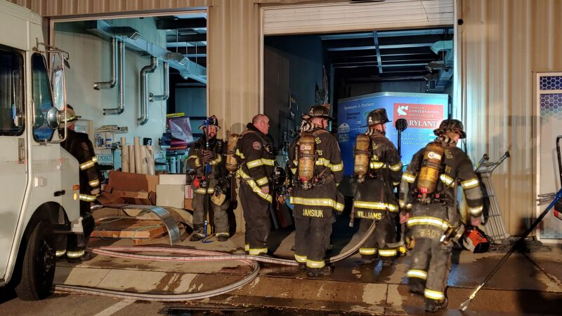 VIDEO: Structure Fire at Hilltop Signs and Graphics in Hollywood Deemed Accidental