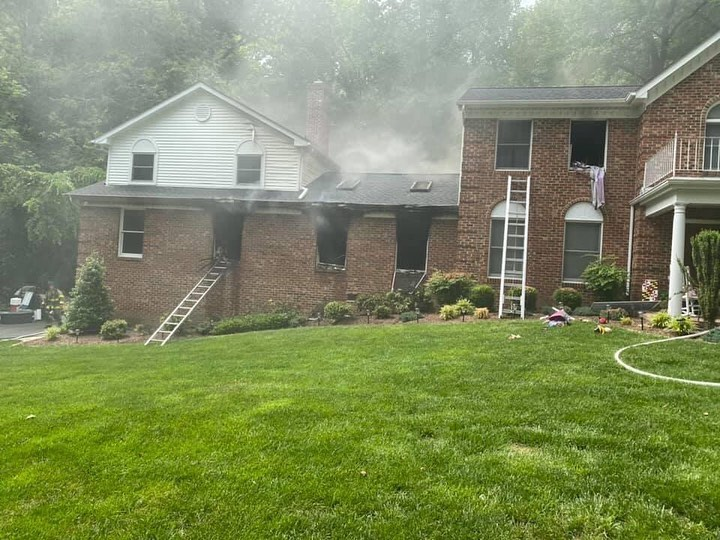 UPDATE: Dryer Fire Causes Over $600,000 in Damages After La Plata House Fire