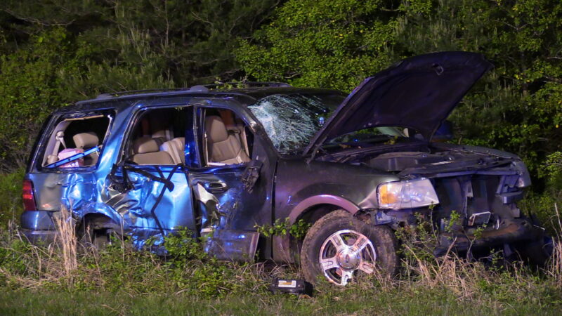 VIDEO: Two Transported to Trauma Center After Serious Motor Vehicle Accident in Lexington Park