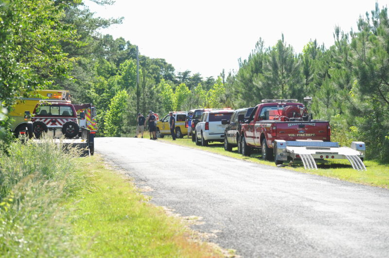 VIDEO: Firefighters in St. Mary's County Respond to Multiple Intentionally Set Fires in Great Mills