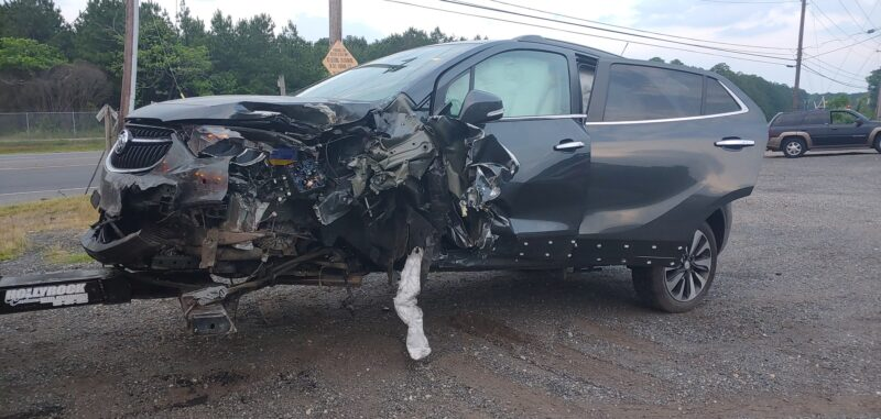 Police Investigating Hit and Run After Vehicle Strikes Utility Pole and Unoccupied SUV in Lexington Park