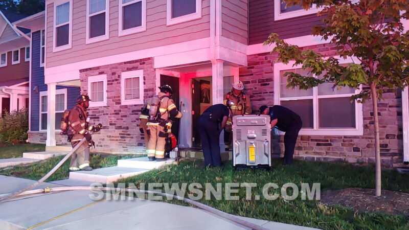 No Injuries Reported, One in Custody After Subject Attempts to Set Apartment on Fire in Lexington Park