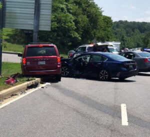 Two Injured, One Flown After Motor Vehicle Collision in Leonardtown