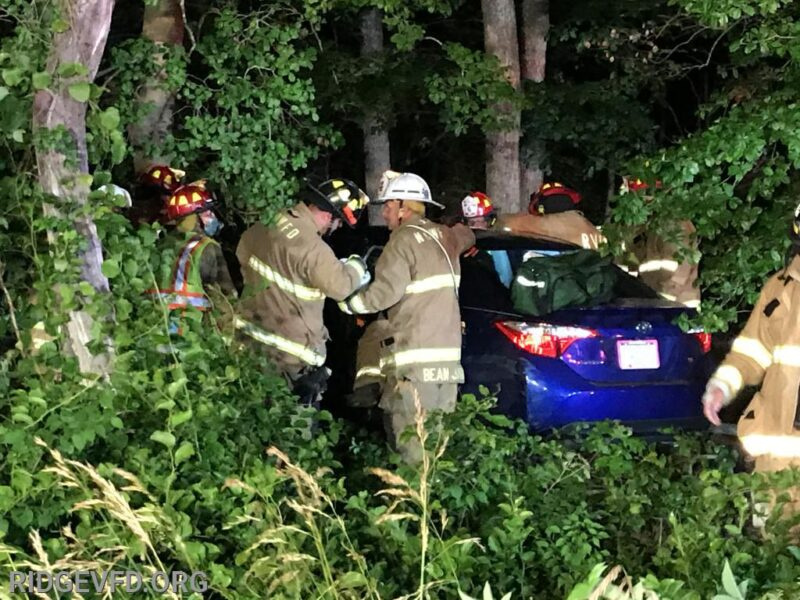 One Transported to Trauma Center After Single Vehicle Collision in Scotland